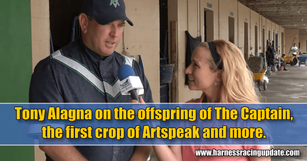 Tony Alagna, Casie Coleman in the HRU video spotlight