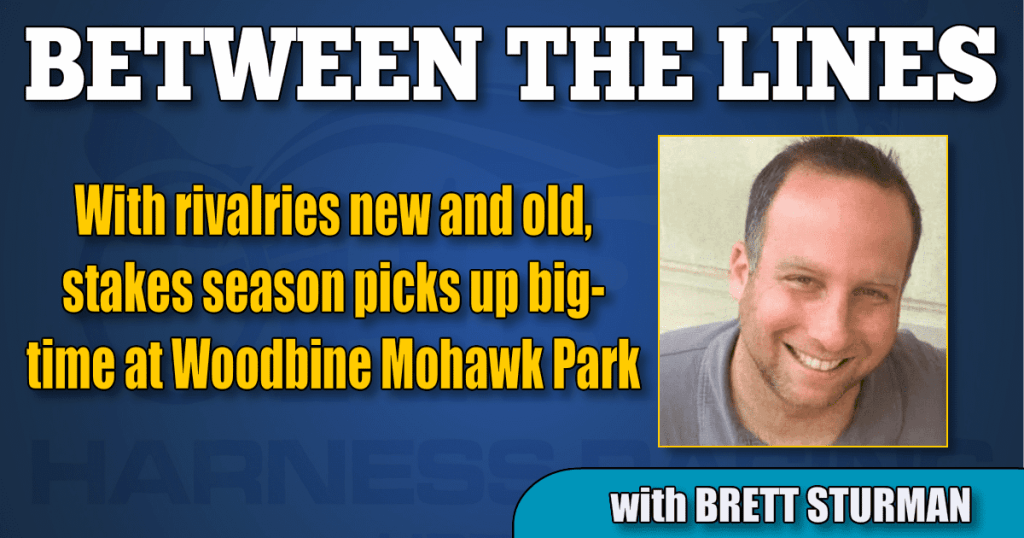 With rivalries new and old, stakes season picks up big-time at Woodbine Mohawk Park