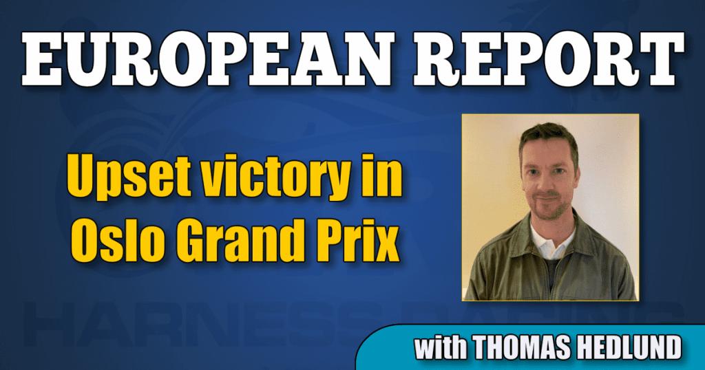 Upset victory in Oslo Grand Prix