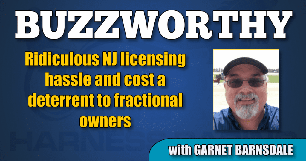 Ridiculous NJ licensing hassle and cost a deterrent to fractional owners