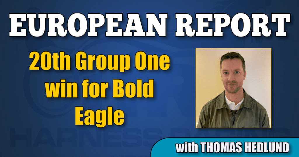 20th Group One win for Bold Eagle