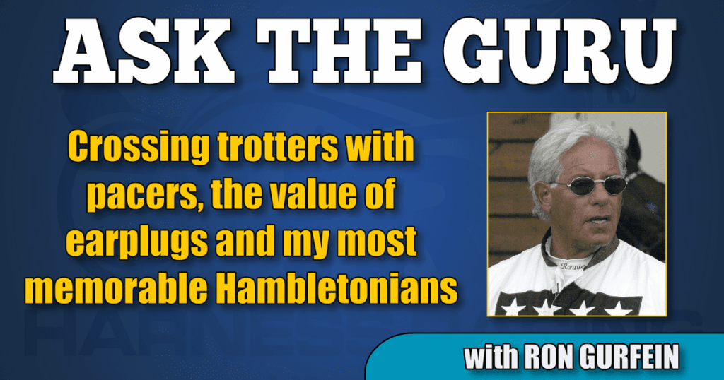Crossing trotters with pacers, the value of earplugs and my most memorable Hambletonians