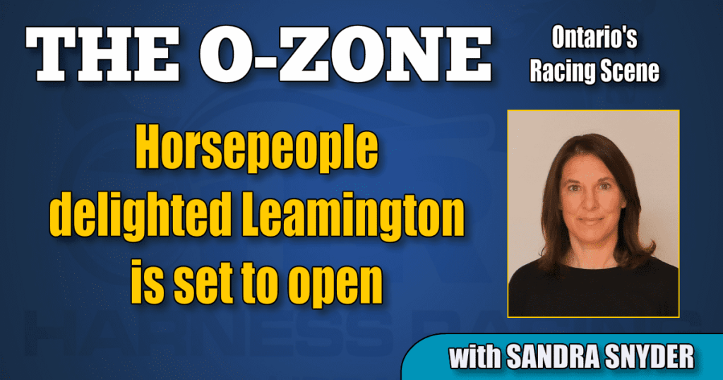 Horsepeople delighted Leamington is set to open