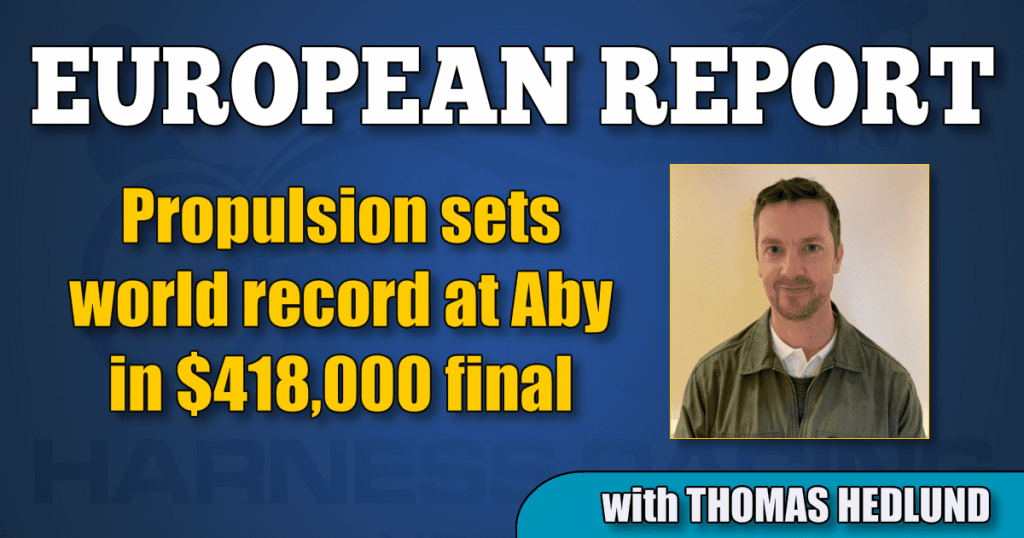 Propulsion sets world record at Aby in $418,000 final