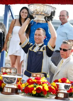 Dave Landry   Twenty-eight-year-old Ontario-based driver Bob McClure won his first Hambletonian in his first attempt.