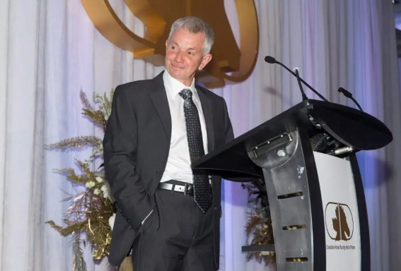Canadian Horse Racing Hall of Fame   After enduring endless ribbing during the evening about his alleged frugality, driver Trevor Ritchie ended the ceremony with one of the best speeches of the night.