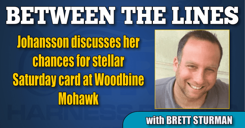 Johansson discusses her chances for stellar Saturday card at Woodbine Mohawk