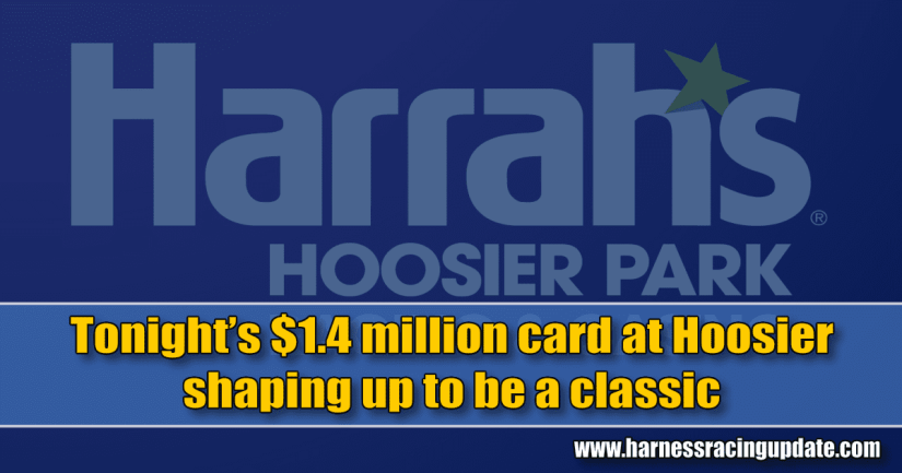 Tonight's $1.4 million card at Hoosier shaping up to be a classic
