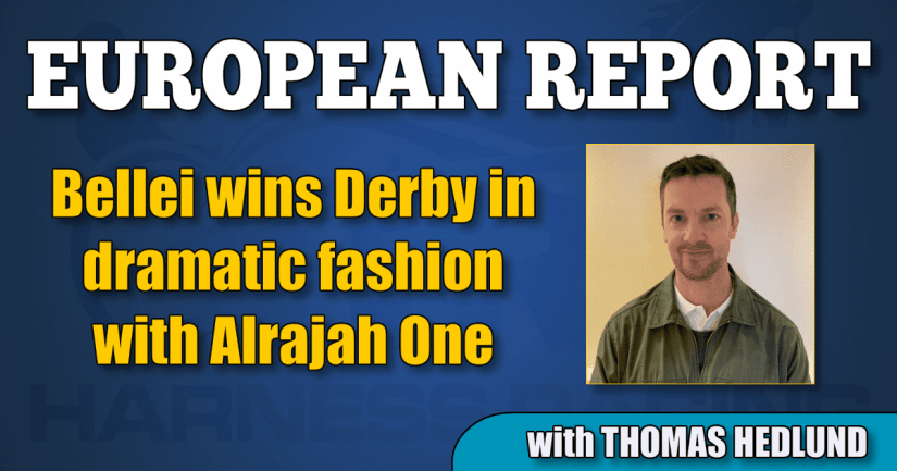 Bellei wins Derby in dramatic fashion with Alrajah One