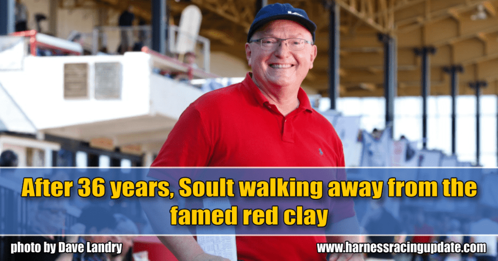 After 36 years, Soult walking away from the famed red clay
