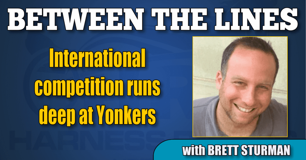 International competition runs deep at Yonkers