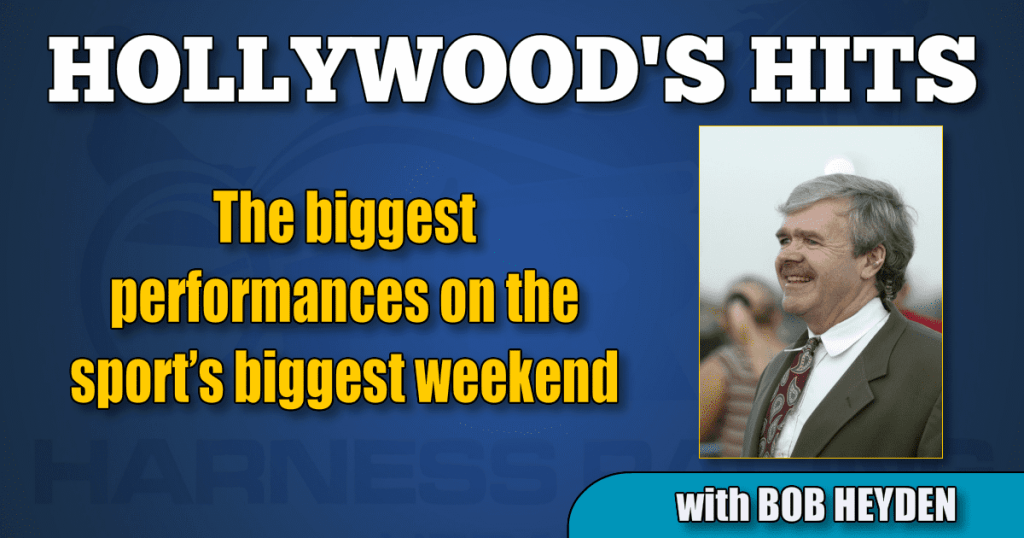 The biggest performances on the sport's biggest weekend
