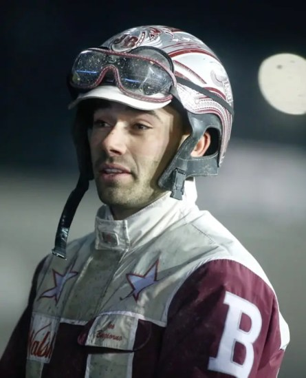 Dave Landry | Joe Bongiorno celebrated his first Breeders Crown victory after driving American History to a score in the Open Pace.