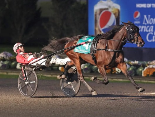 Claus Andersen | Manchego (Dexter Dunn) winning the Mare Trot in 1:51.
