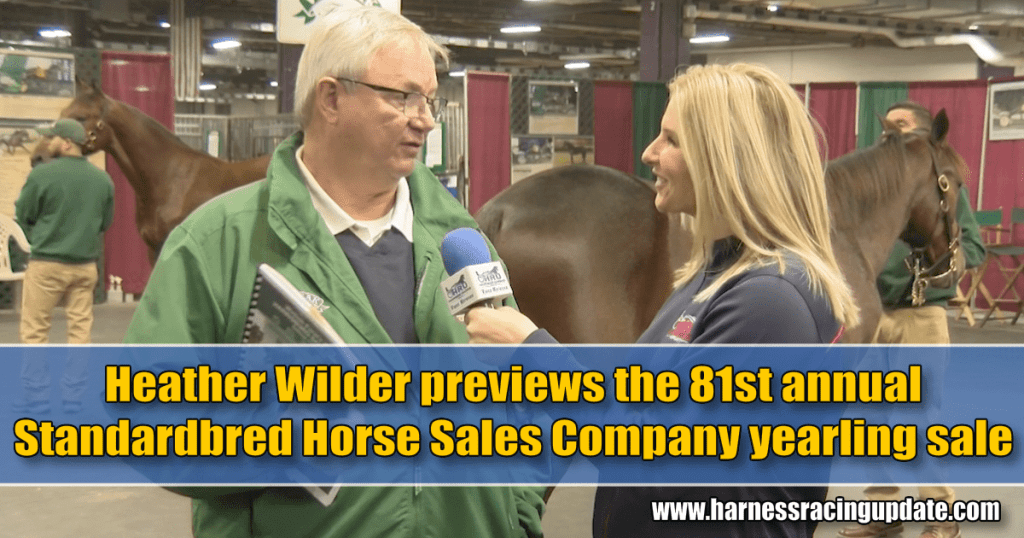 Heather Wilder previews the 81st annual Standardbred Horse Sales Company yearling sale