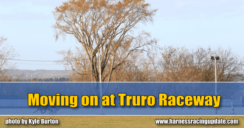 Moving on at Truro Raceway
