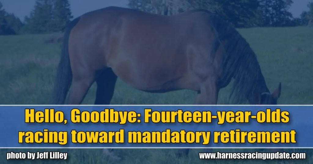 Hello, Goodbye: Fourteen-year-olds racing toward mandatory retirement
