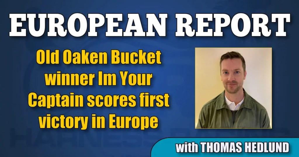 Old Oaken Bucket winner Im Your Captain scores first victory in Europe