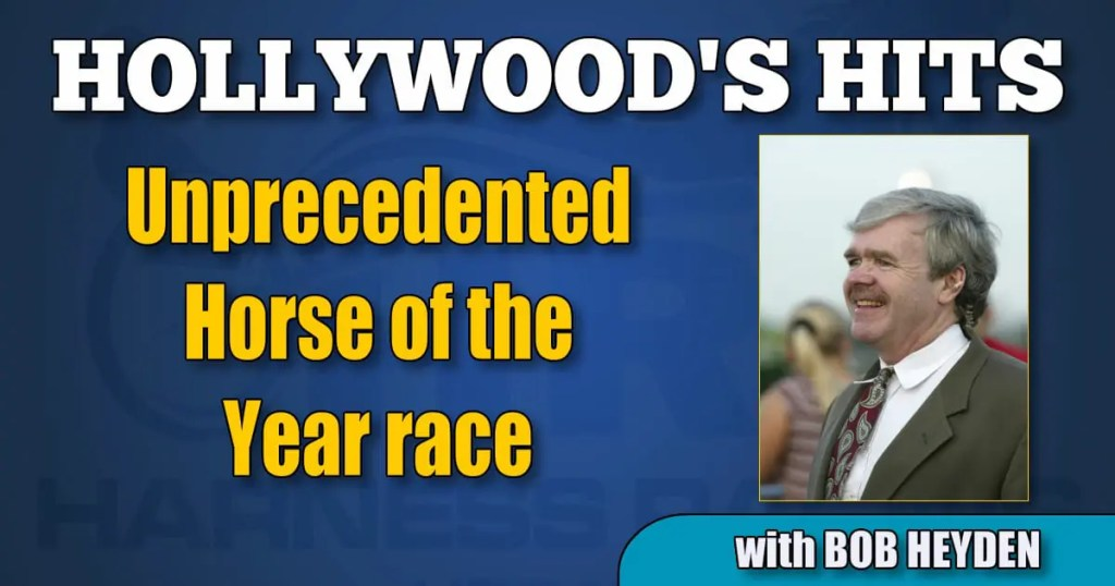 Unprecedented Horse of the Year race