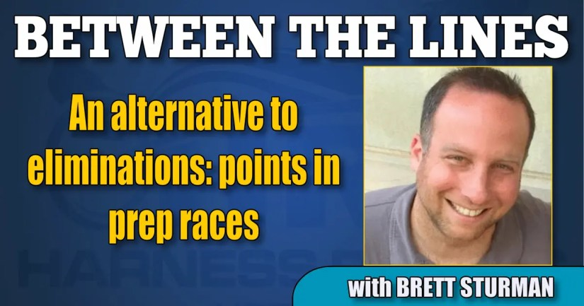 An alternative to eliminations: points in prep races