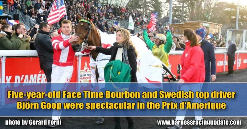 Spectaculaire! - Prix d'Ameriqué won by Face Time Bourbon and Björn Goop