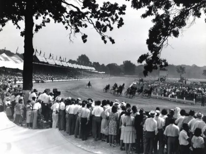 File Photo | Good Time Park in Goshen, NY during the 1940 Hambletonian.