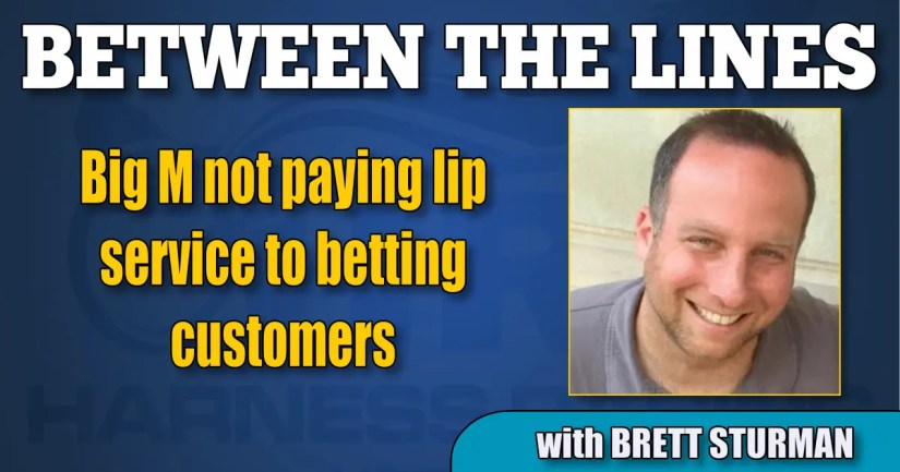 Big M not paying lip service to betting customers