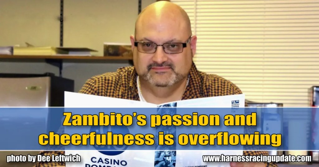 Zambito's passion and cheerfulness is overflowing