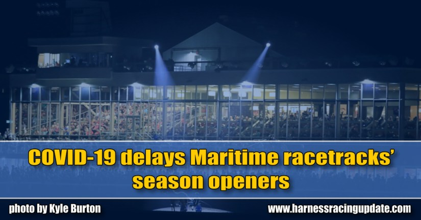 COVID-19 delays Maritime racetracks' season openers