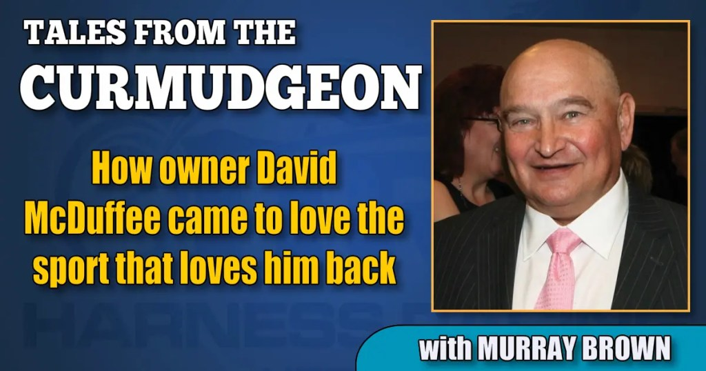 How owner David McDuffee came to love the sport that loves him back