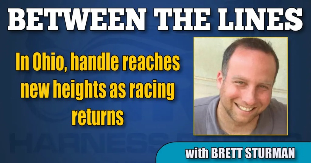 In Ohio, handle reaches new heights as racing returns