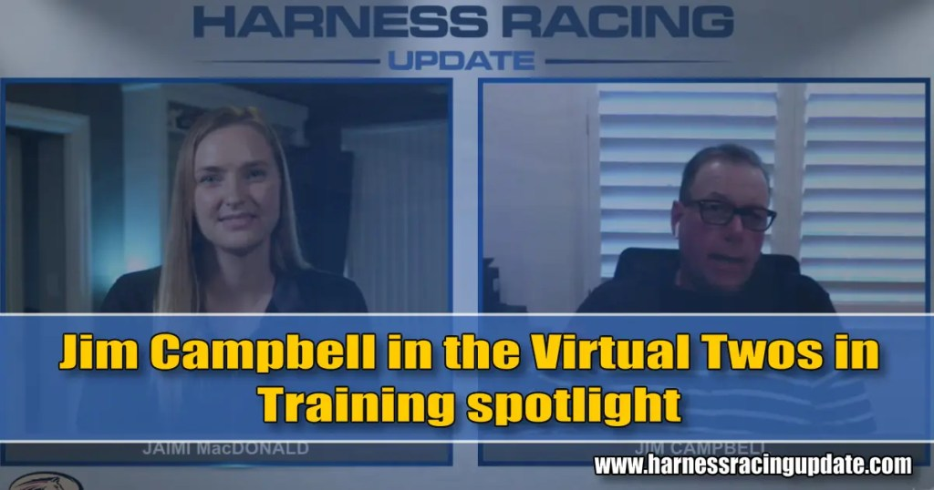 Jim Campbell in the HRU Virtual Two in Training spotlight; Mark Steacy and Erv Miller up next