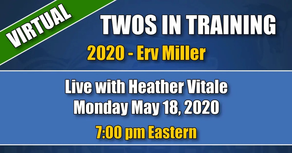 Erv Miller in the HRU Twos in Training