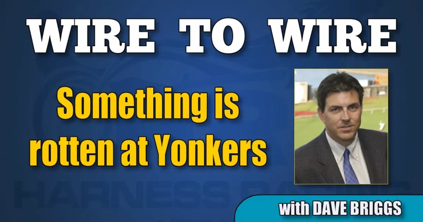 Something is rotten at Yonkers