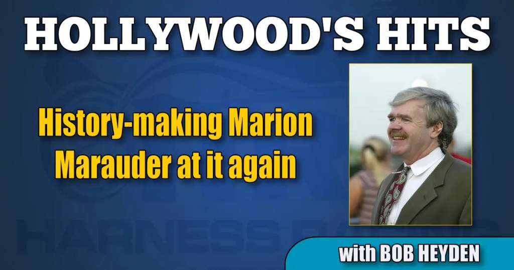 History-making Marion Marauder at it again