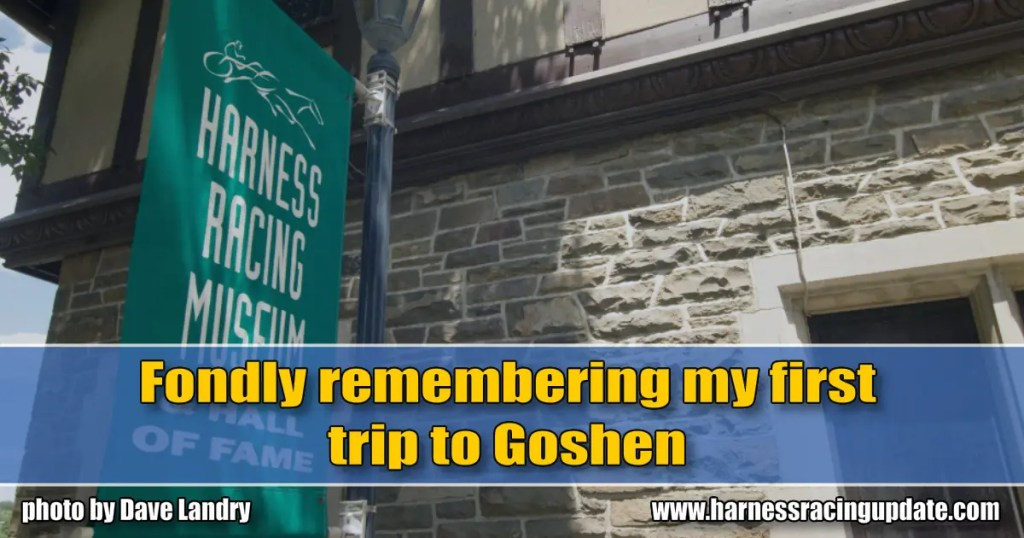 Fondly remembering my first trip to Goshen