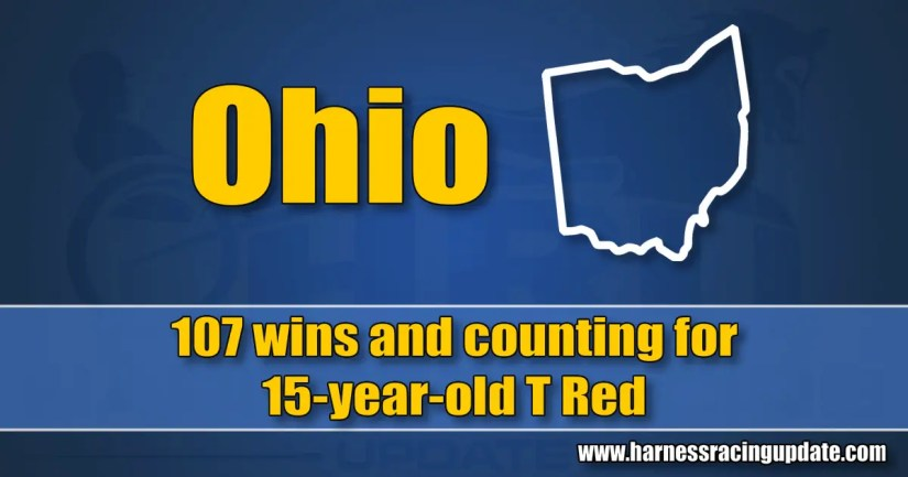 107 wins and counting for 15-year-old T Red