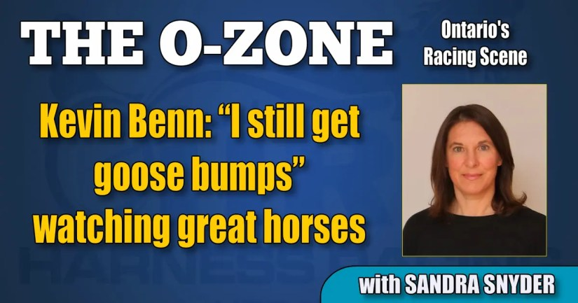 "Kevin Benn: ""I still get goose bumps"" watching great horses"