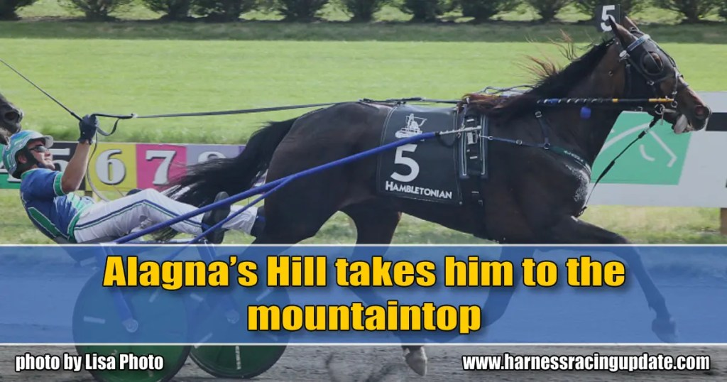 Alagna's Hill takes him to the mountaintop