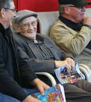 Claus Andersen | At the age of 96, Keith Waples (shown at the 2018 London Selected Yearling Sale) is still buying horses.