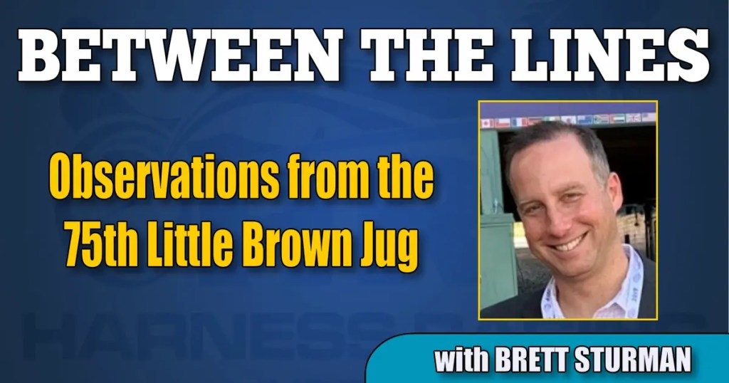 Observations from the 75th Little Brown Jug
