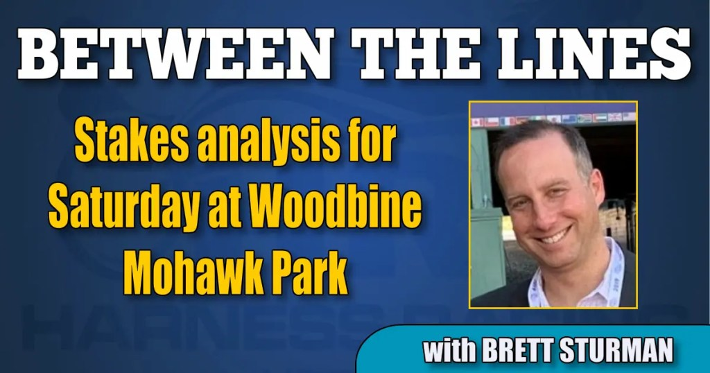 Stakes analysis for Saturday at Woodbine Mohawk Park