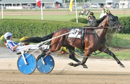 Brad Conrad | Sandbetweenmytoes (Scott Zeron) scored a 7-1 upset in the second Jug elimination won in 1:49.3.
