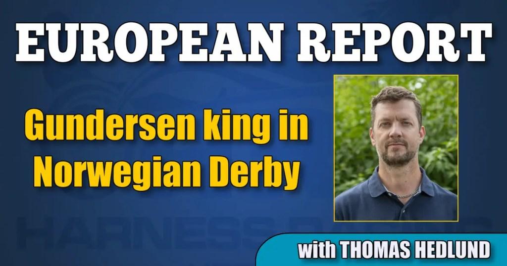 Gundersen king in Norwegian Derby