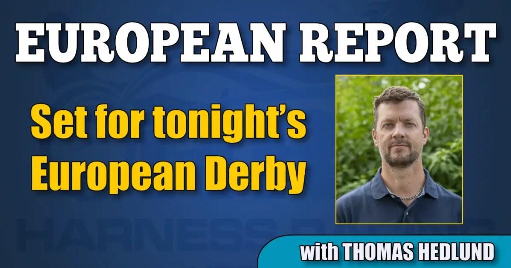 Set for tonight's European Derby
