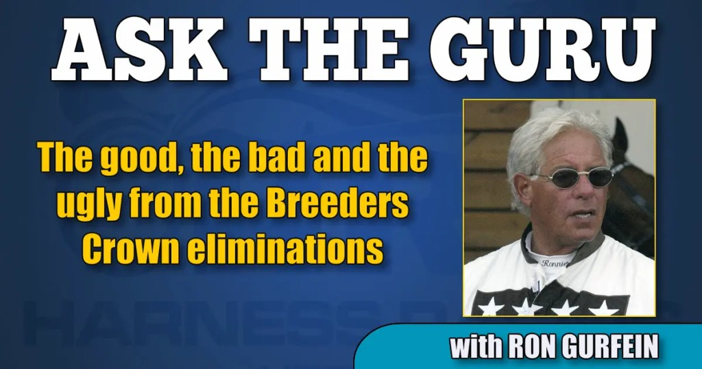 The good, the bad and the ugly from the Breeders Crown eliminations