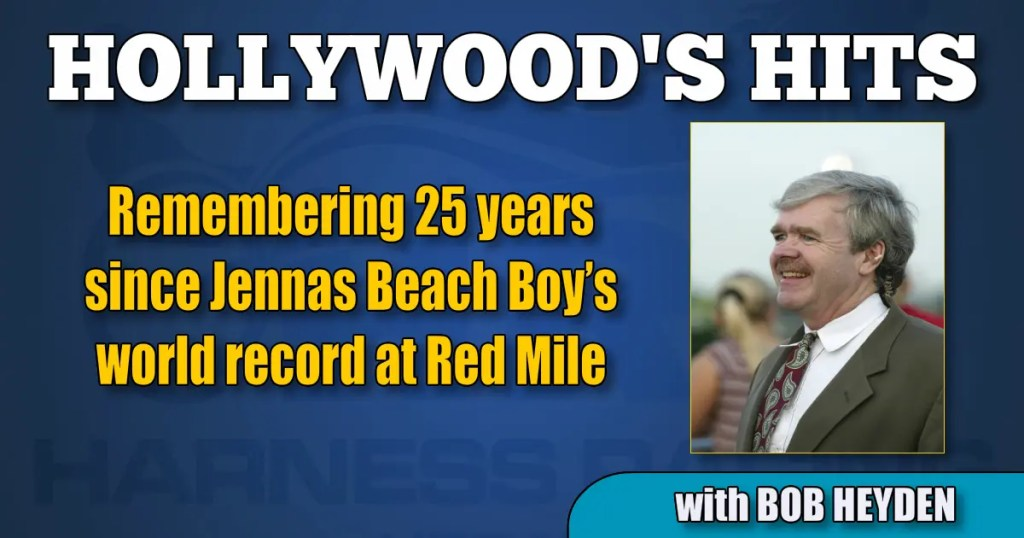 Remembering 25 years since Jennas Beach Boy's world record at Red Mile