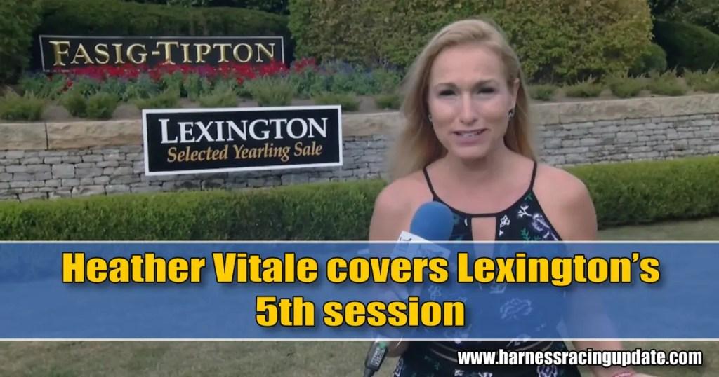 Heather Vitale covers Lexington's 5th session
