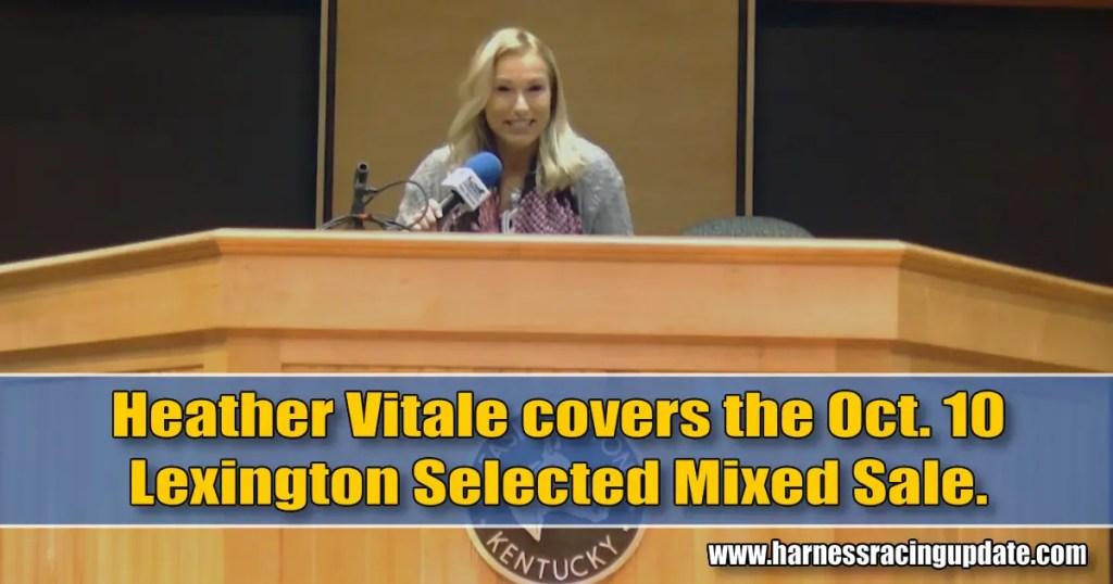 Heather Vitale covers Lexington's Mixed Sale
