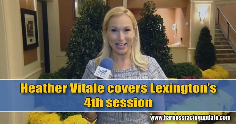 Heather Vitale covers Lexington's 4th session